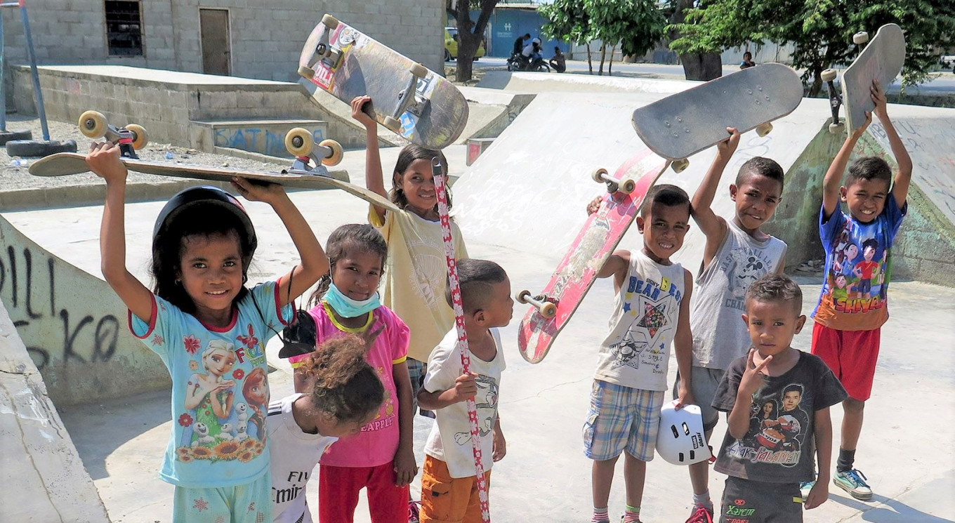 Skateboarding empowers Timor Leste's youth
