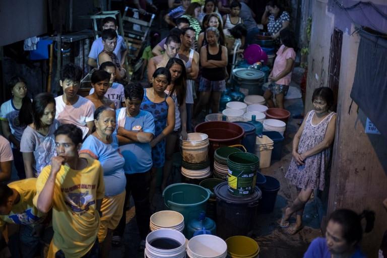 Millions hit in Manila's 'worst' water shortage
