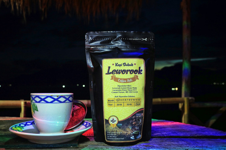 Leworook coffee, named after the village, is now a brand that is well-loved by regular buyers. The coffee grows around Mount Leraboleng at a height of 1300-1500 meters above sea level. The fertile soil in which it grows gives the coffee its distinct aroma.