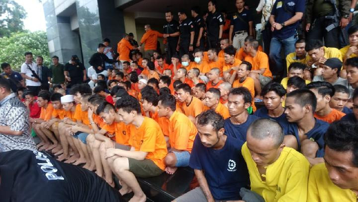 Anti-Bandit Squad arrests 186 people in a five-day operation