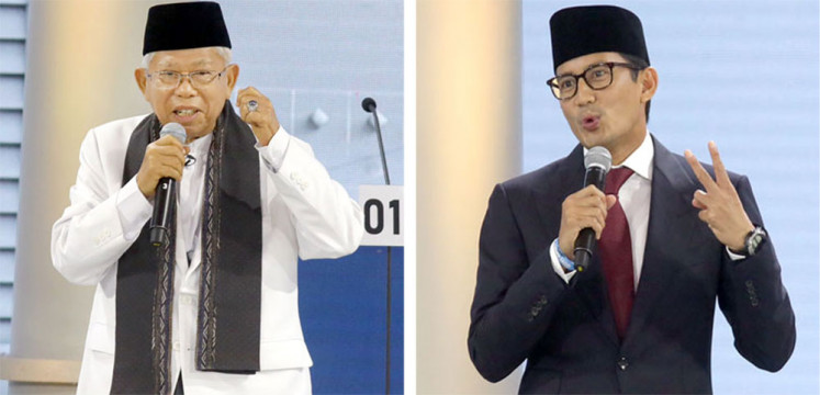Experts, activists disappointed with 'non-debate'