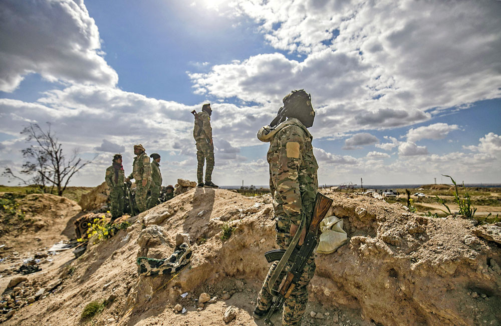 Islamic State defeated, 'caliphate' eliminated: SDF