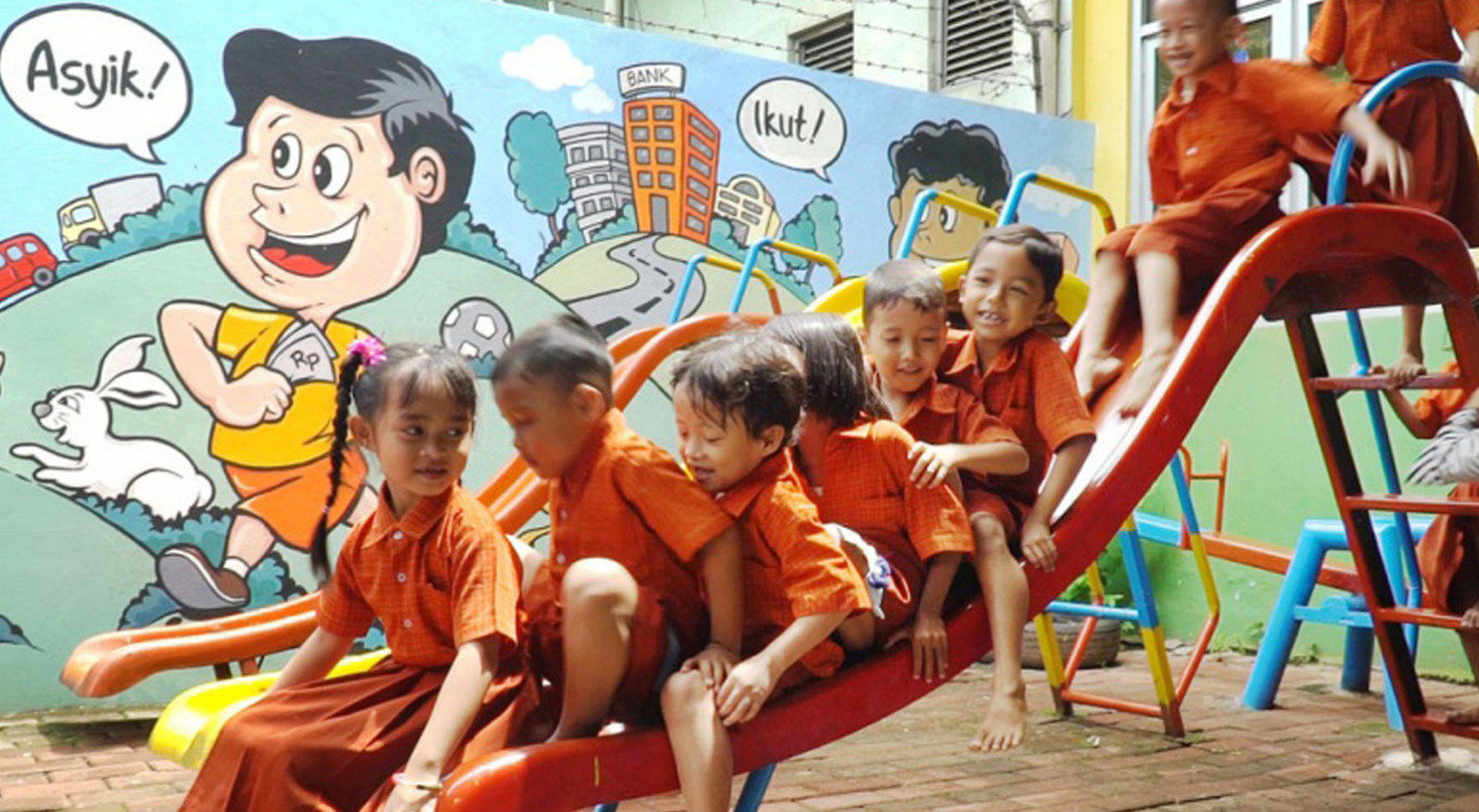 PAUD provides safe haven for children in wet market