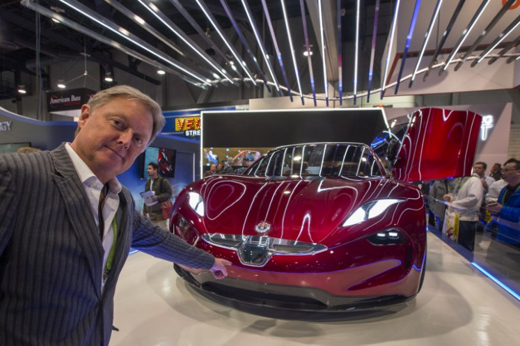 Fisker relaunches Tesla rivalry with $40k electric car