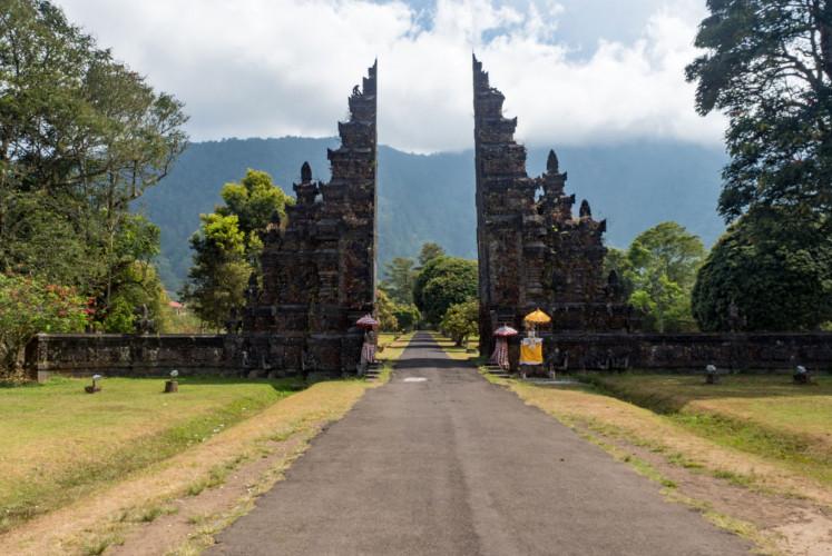 Candi Bentar, Bedugul in Bali.
