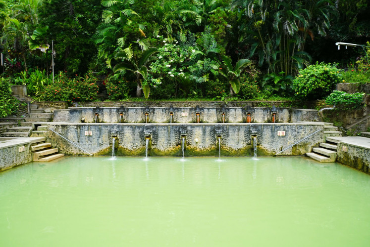 Panas Banjar Hot Springs in Bali.
