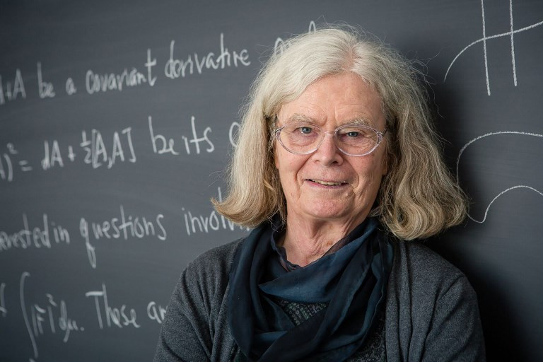 Abel Prize for maths awarded to woman for first time
