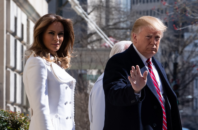 Trump wades into Melania 'body double' conspiracy theory