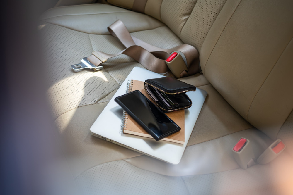 Five things you should never leave in your car