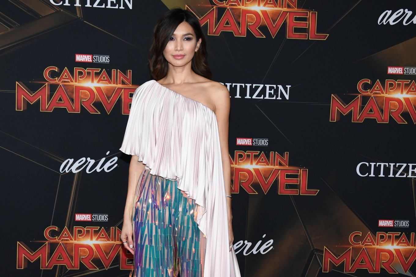 Gemma Chan defends playing a white woman