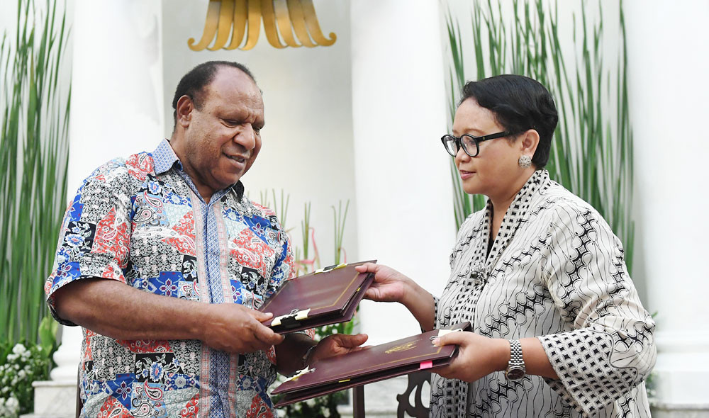 Indonesian diplomacy: Finding the right balance