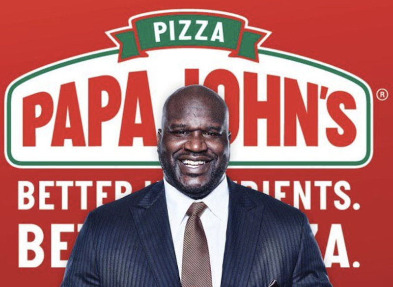 Former NBA star Shaquille O'Neal joins Papa John's board