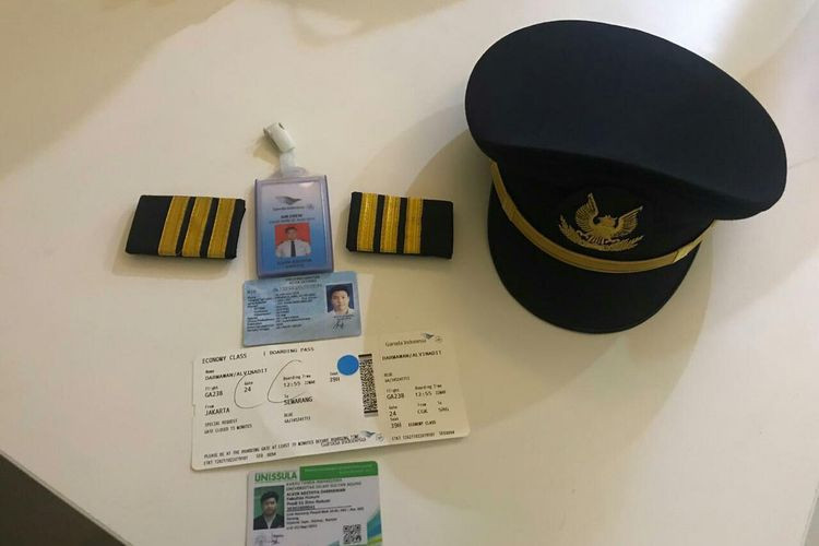 Fake Garuda Indonesia pilot named suspect