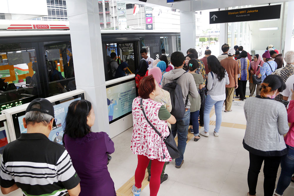 Jakarta subway experiences another blackout