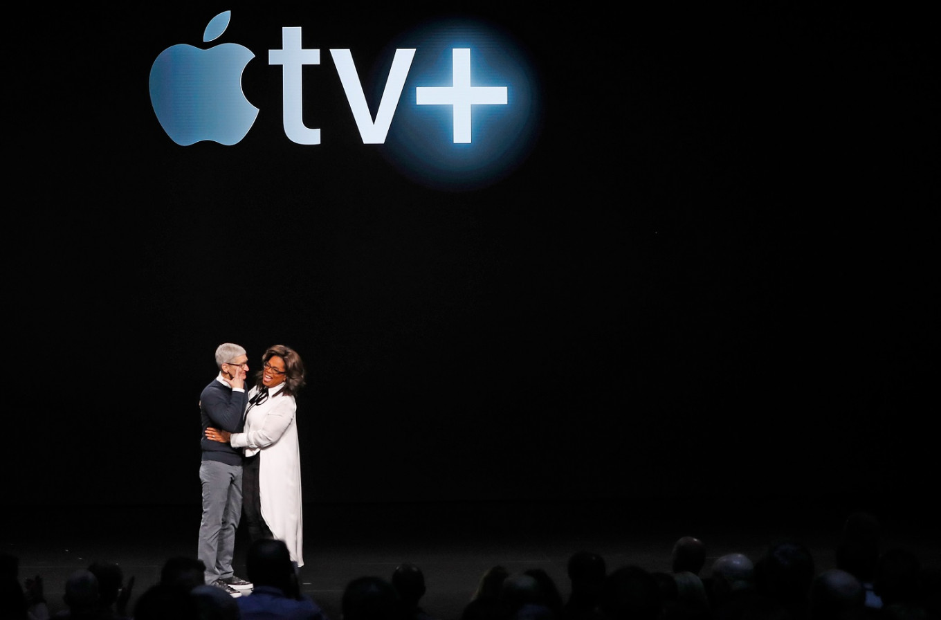 In streaming wars, Apple says it can coexist with Netflix