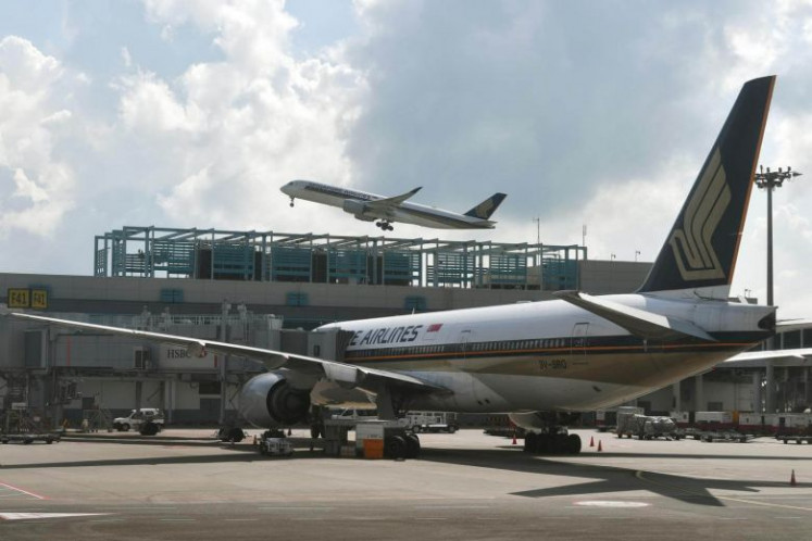 Singapore Airlines flight lands safely amid bomb threat