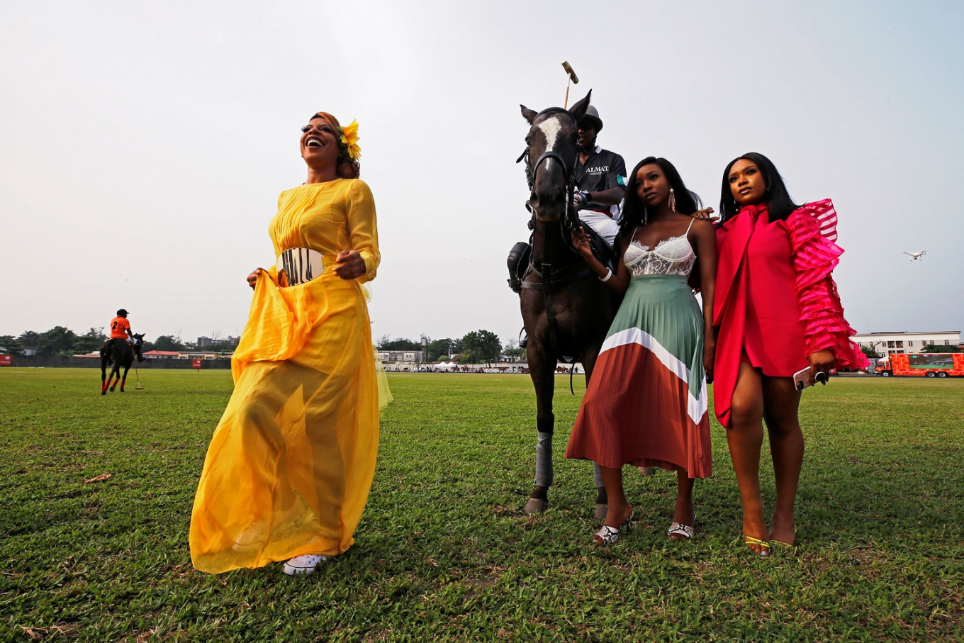 Fashion and champagne grace Nigeria polo party