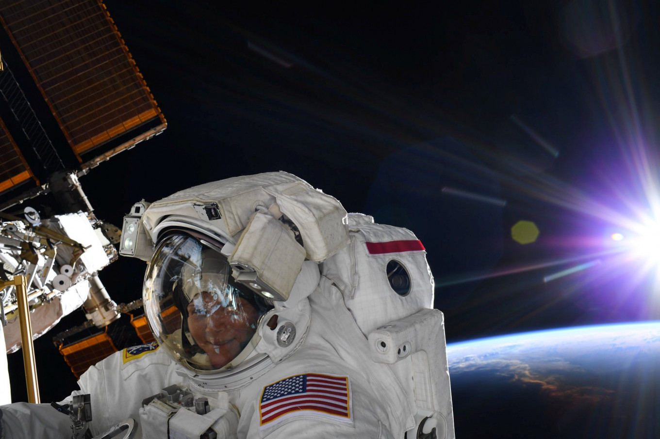 NASA cancels first all-women spacewalk due to lack of small spacesuits