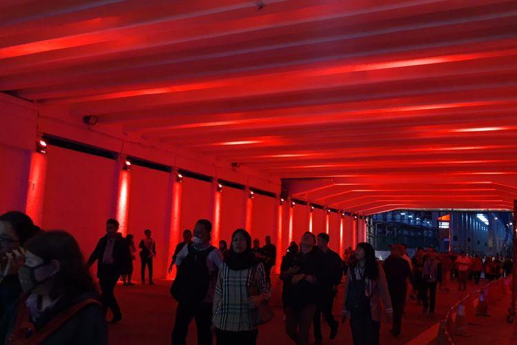 Jl. Kendal underpass gets facelift, now for pedestrians only
