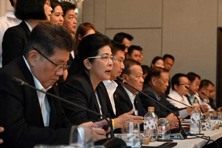 Seven Thai parties form coalition to thwart junta