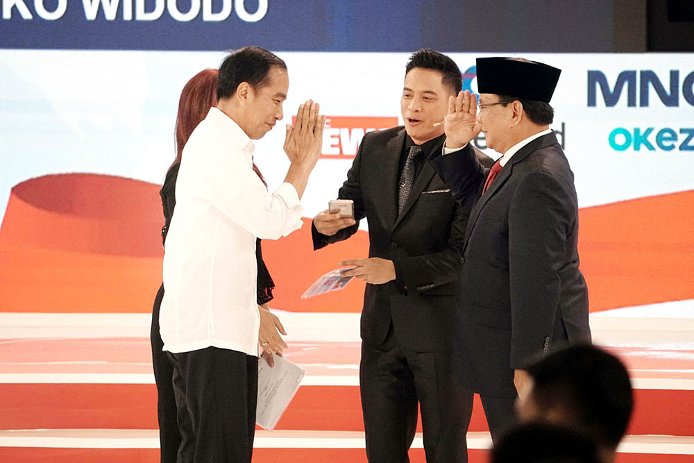 Jokowi hopes to meet Prabowo to ease tensions