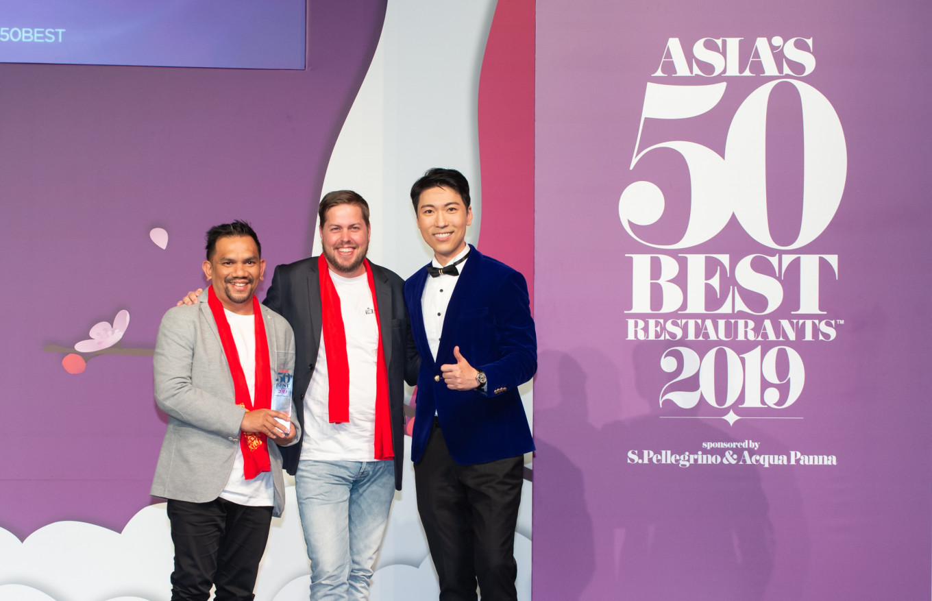 Bali-based Locavore claims Asia's sustainable restaurant award