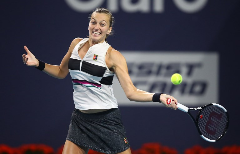 Petra Kvitova reaches first French Open quarter-final for eight years