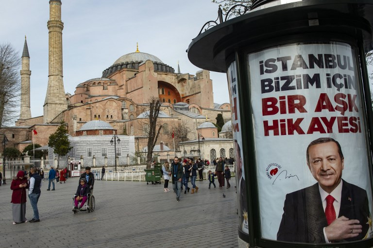 Erdogan says time has come for Hagia Sophia to be a mosque