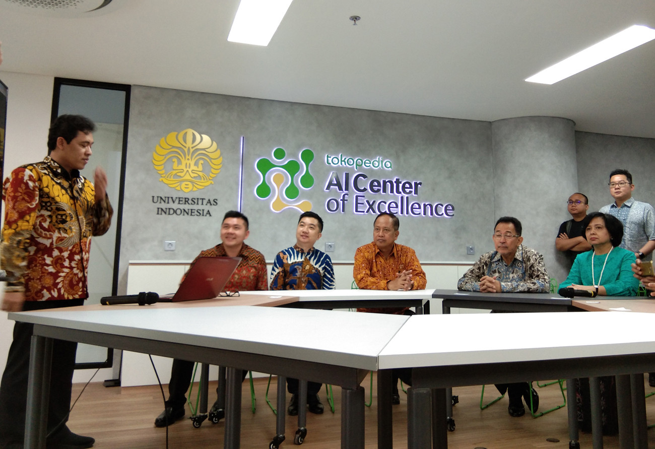 Tokopedia, UI launch AI research center