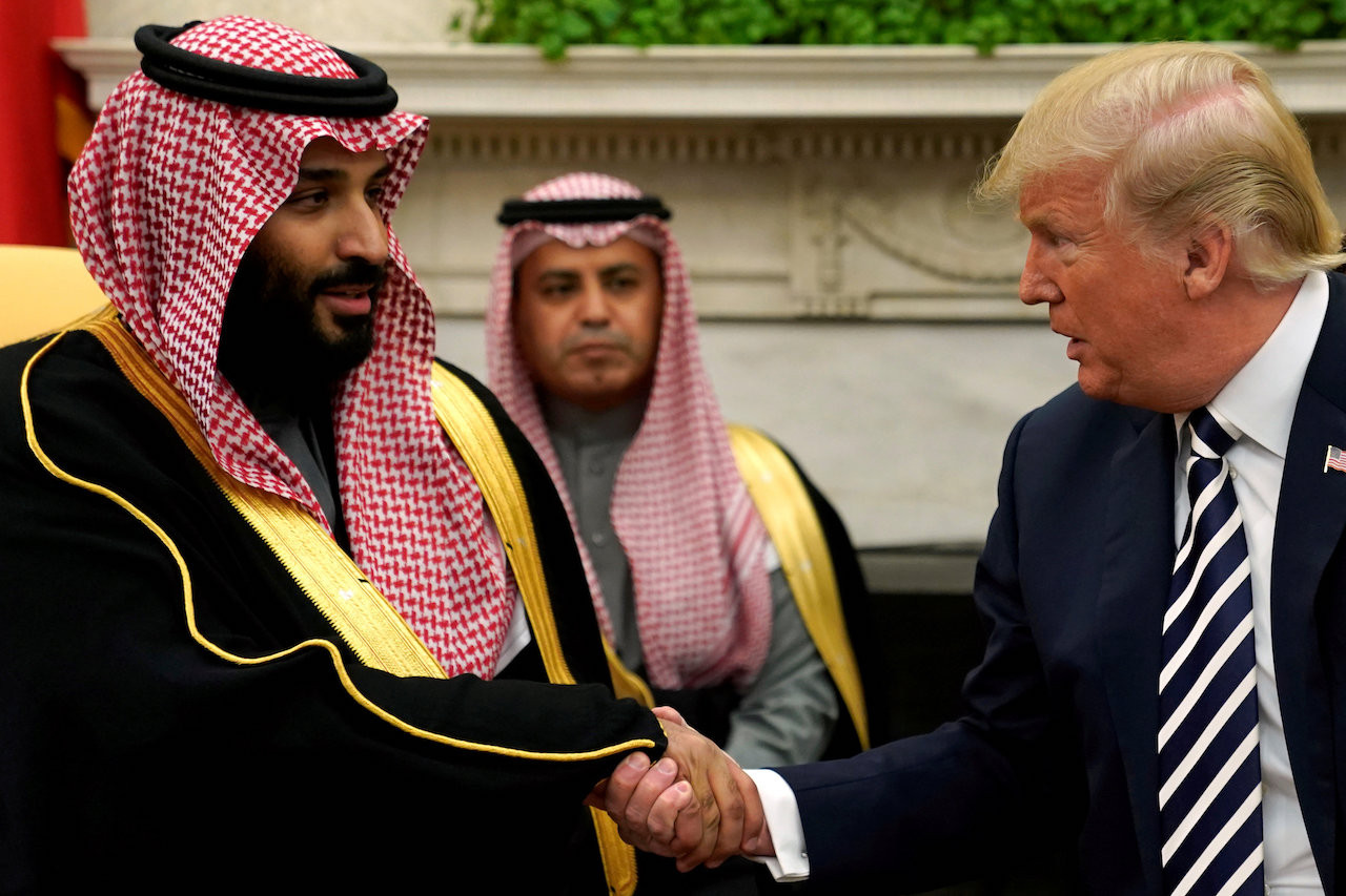 US citizens among seven held in Saudi crackdown