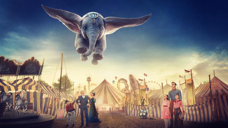 Dumbo Turbulent Flying Elephant Ride Entertainment The Jakarta Post