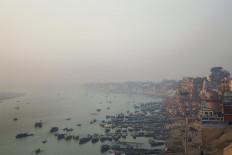 The city of Varanasi nestles on the banks of Ganges River in the North Indian State of Uttar Pradesh. JP/Irene Barlian