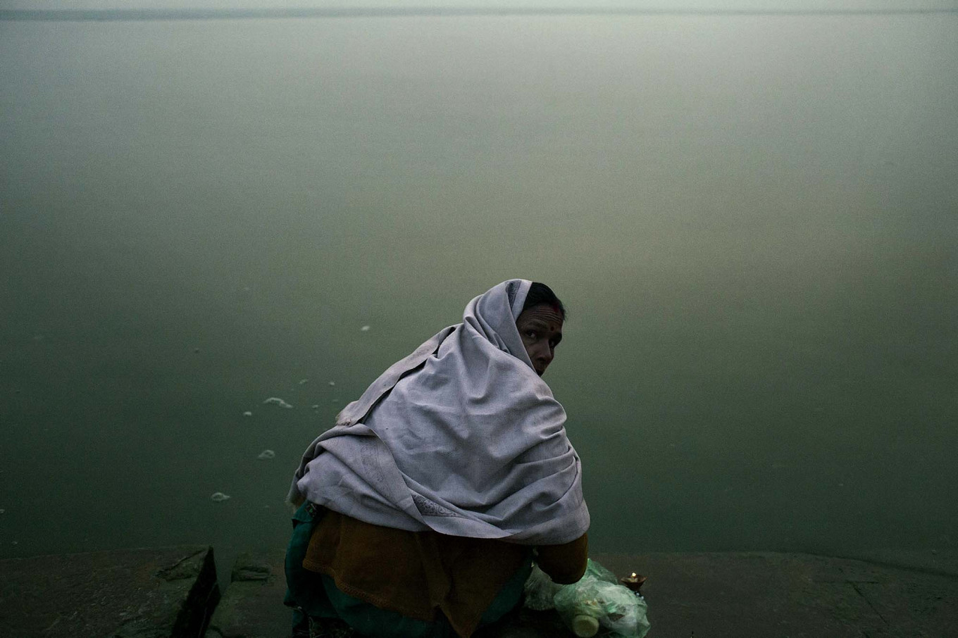 The river contributes significantly to the lives of the surrounding communities. JP/Irene Barlian