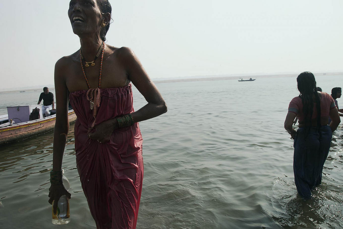 For thousands of years people have come to worship and offer their prayer to the Mother Ganga, an Indian's epithet for the holy river. JP/Irene Barlian