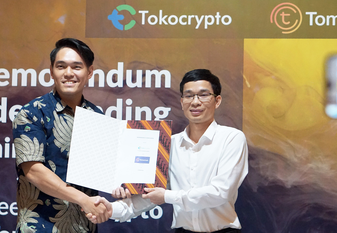 Tokocrypto announces collaboration with TomoChain