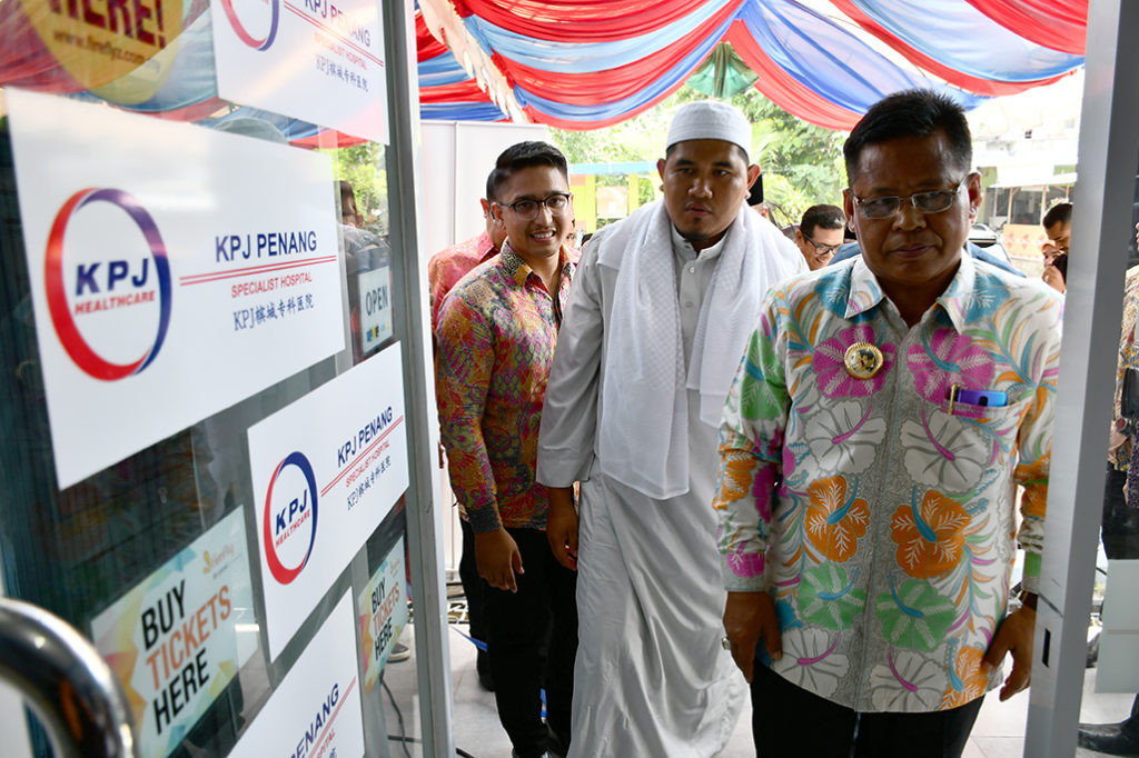 Penang Hospital extends services to Banda Aceh
