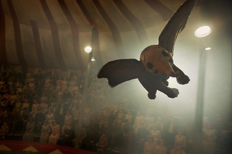 Disney's 'Dumbo' soars, sort of, to top North American ticket sales