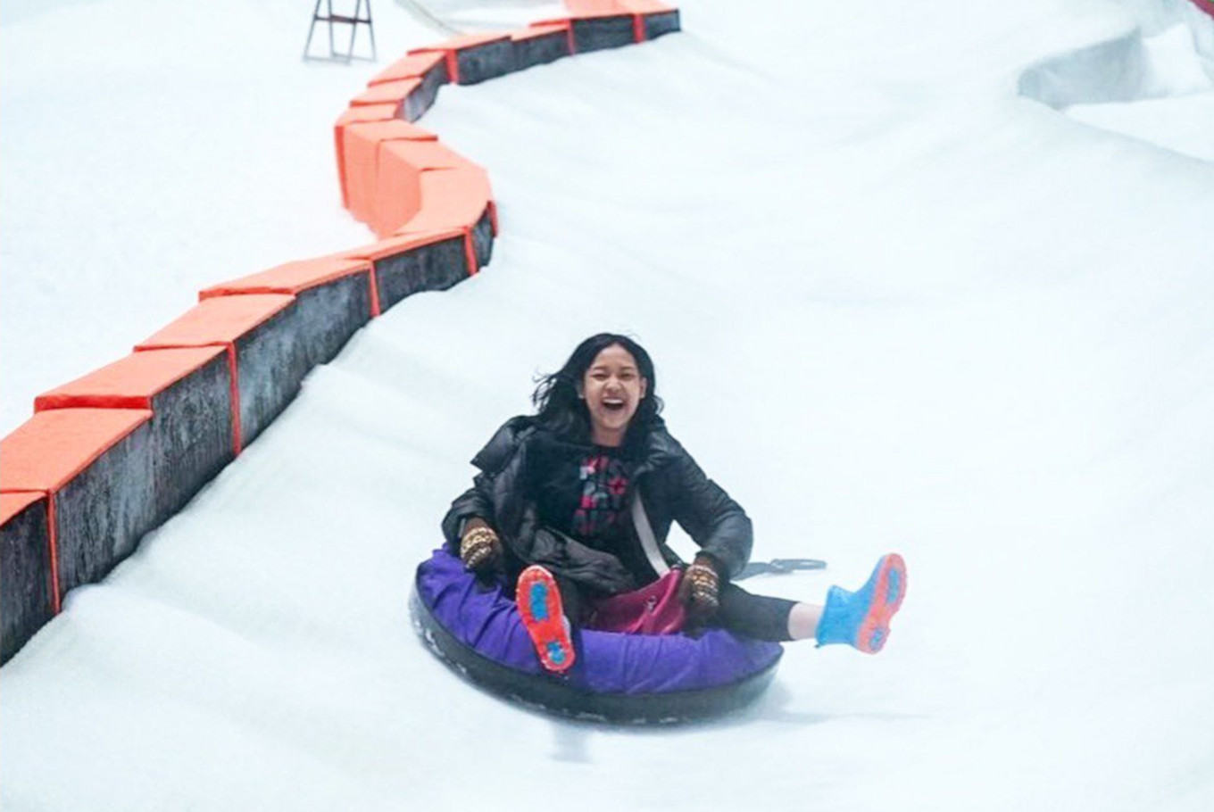 Snow-themed park opens in Bekasi