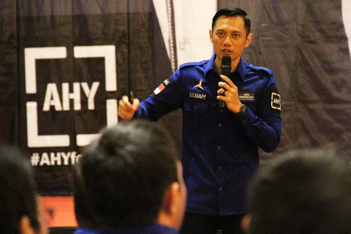 Agus Yudhoyono elected as Democratic Party chairman