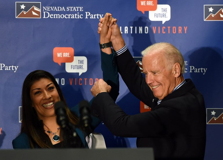 Biden camp rejects 'smears' about his physicality with women