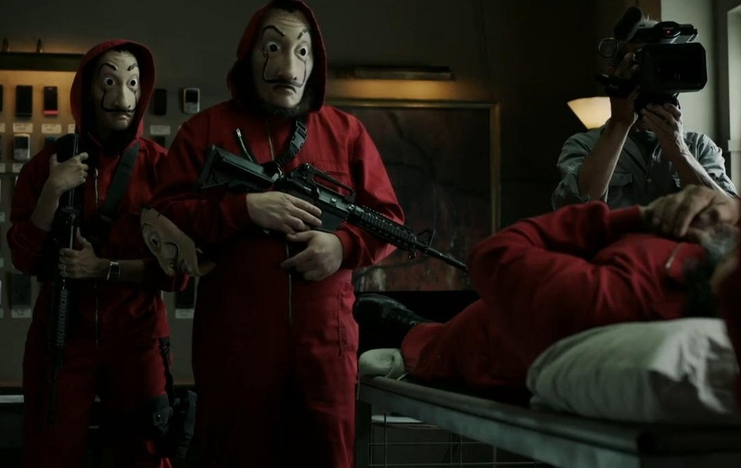 Index Of Money Heist Season 3
