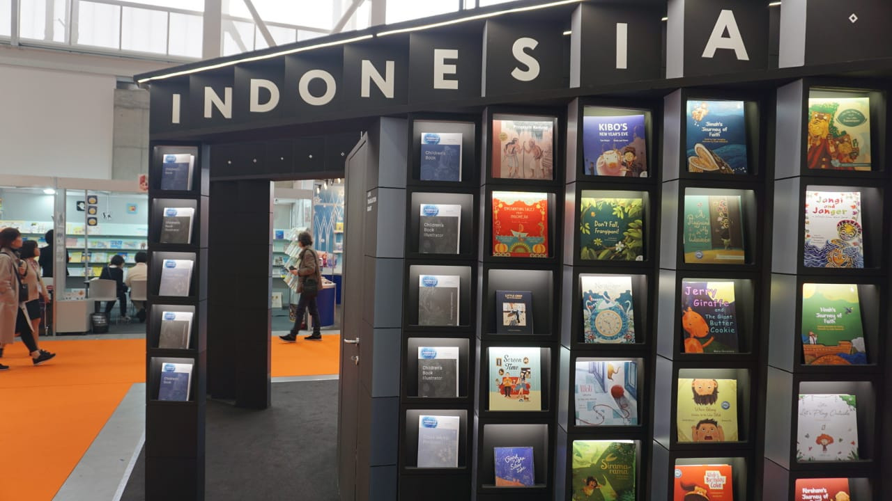 Indonesian publishers exhibit at Bologna Children's Book Fair