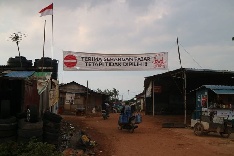 Village in Batam warns its votes are not for sale