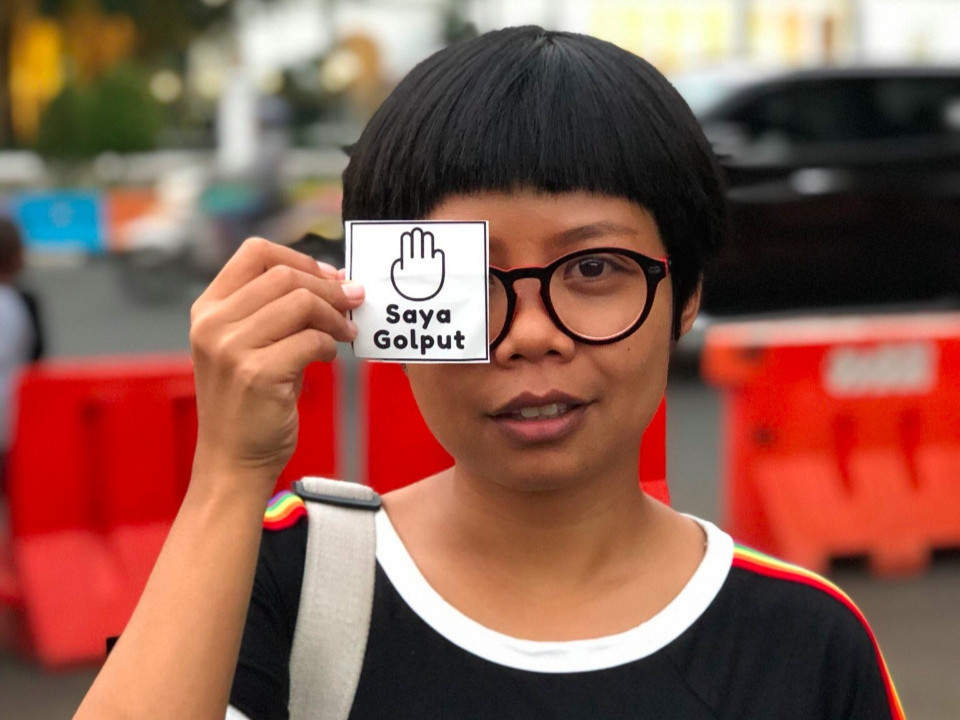Meet Lini Zurlia, the poster girl for protest voting in presidential election