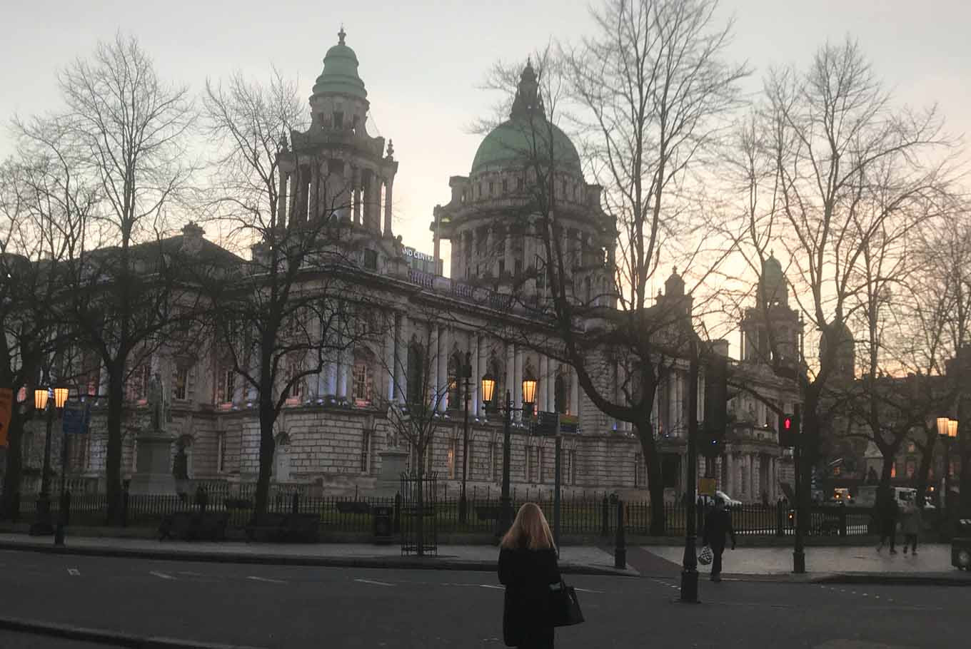 Belfast City Hall's Baroque Revival