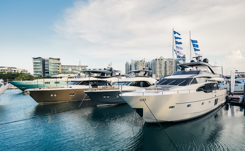 Twenty superyachts to make waves at Singapore Yacht Show