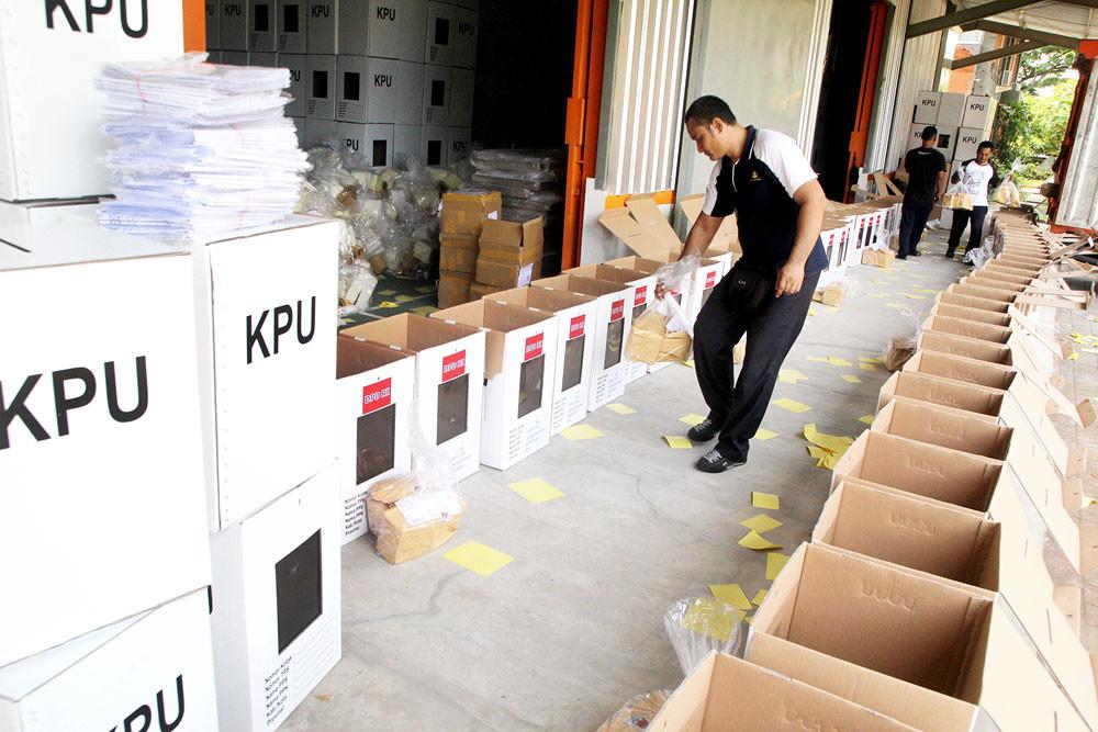 N. Sumatra election material found in E. Nusa Tenggara