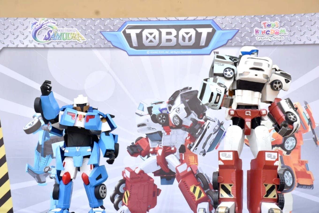 Ancol features 'Tobot' show this April