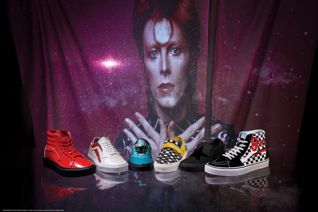 Vans unveils limited collection as tribute to David Bowie
