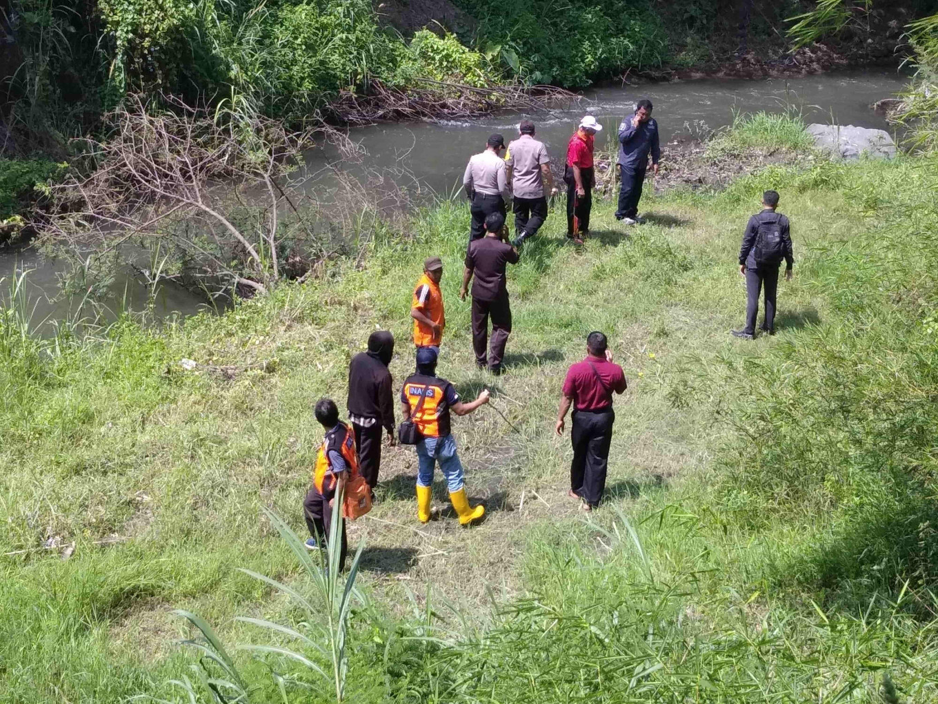 Blitar Police in search of homicide victim's head